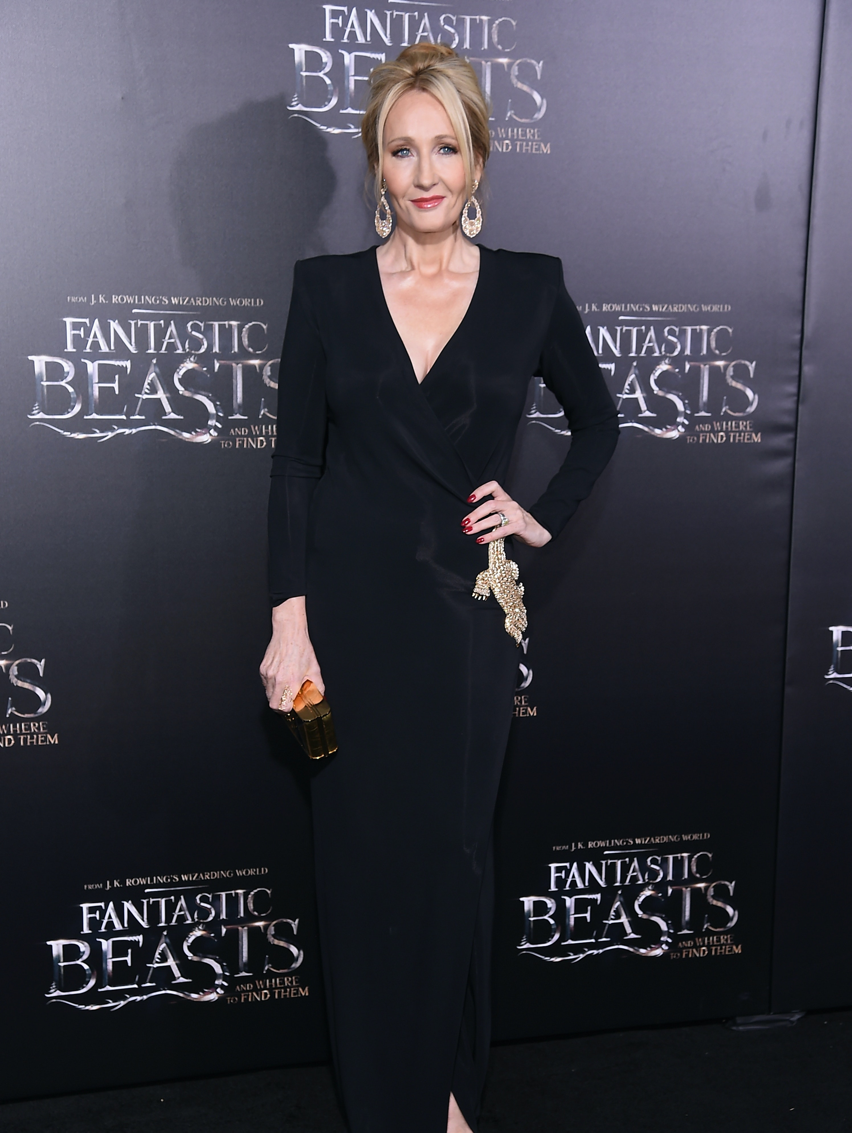 NEW YORK, NY - NOVEMBER 10:  J. K. Rowling attends the 'Fantastic Beasts And Where To Find Them' World Premiere at Alice Tully Hall, Lincoln Center on November 10, 2016 in New York City.  (Photo by Michael Loccisano/Getty Images)