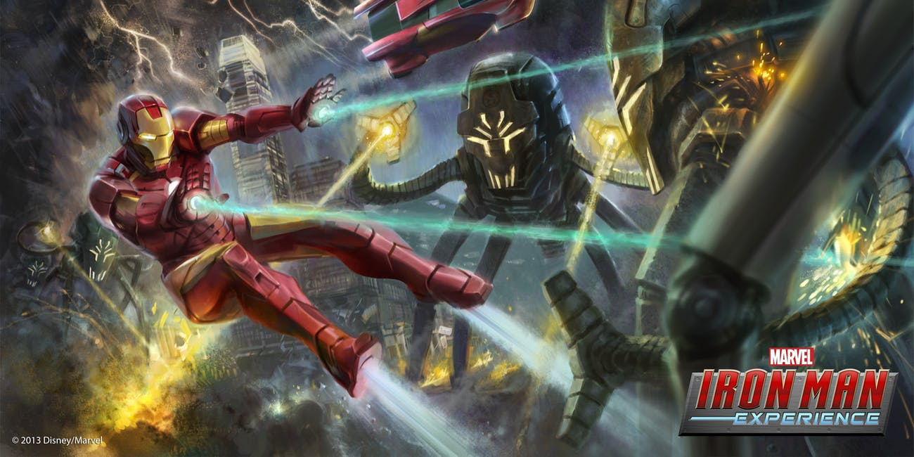 Marvel's Iron Man Experience for Hong Kong Disneyland