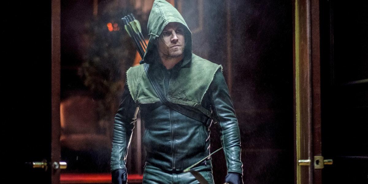 Arrow Stephen Amell