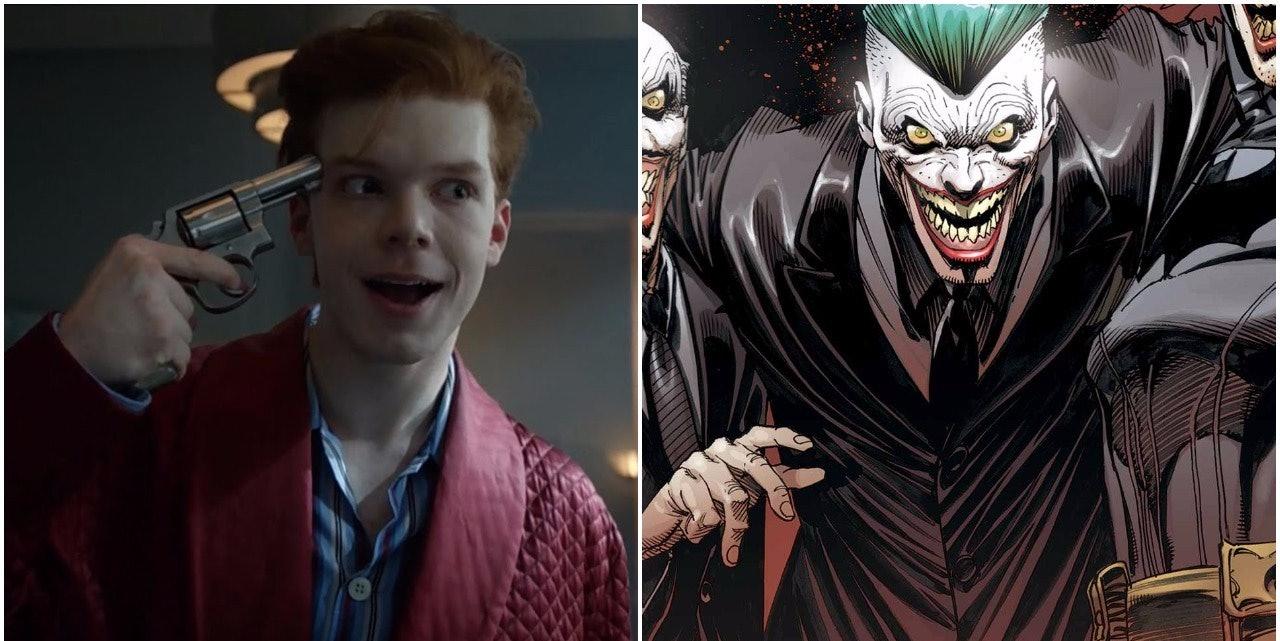 Gotham's Creepy Joker Will Wear The Classic Costume