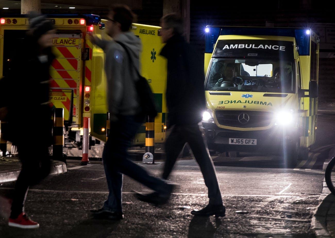 Would you trust an autonomous ambulance to drive safely?