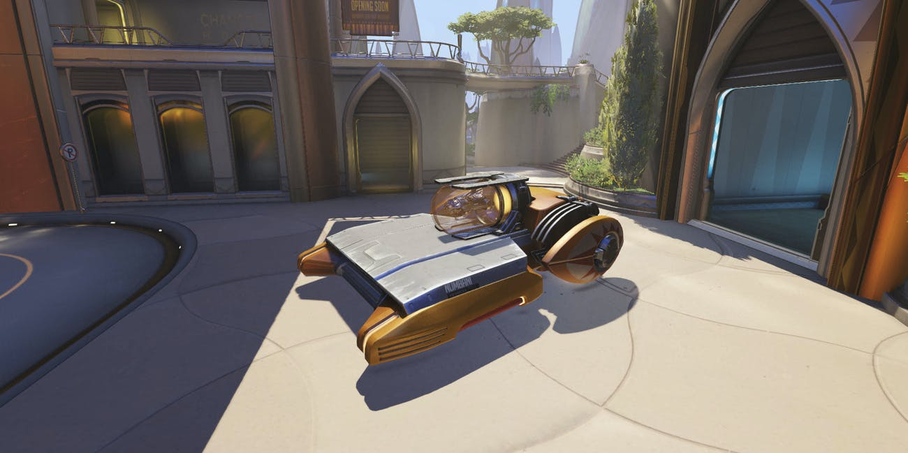 Overwatch' Predicts Earth Will Develop Flying Cars by the