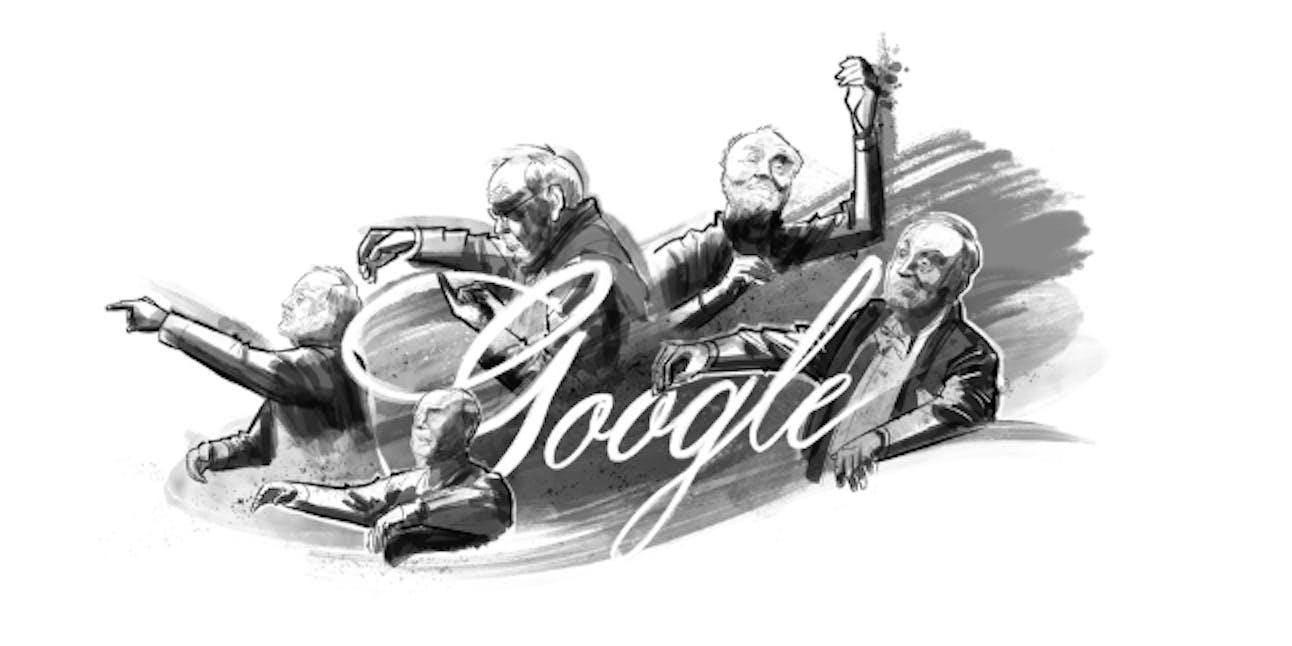 google doodles kurt masur