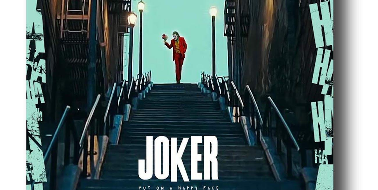 Joker Poster 2019 Movie Promo
