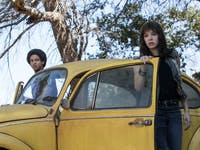 Memo and Charlie in 'Bumblebee'.