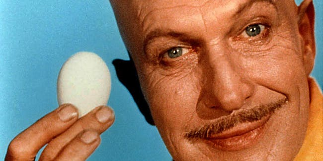 Vincent Price as Egghead in the 1960s 'Batman' TV series