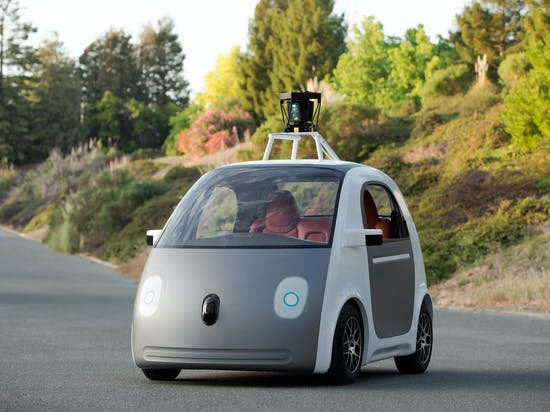 """Google's Patented """"Sticky"""" Layer Aims to Protect Pedestrians Who Get Hit by Self-Driving Cars"""