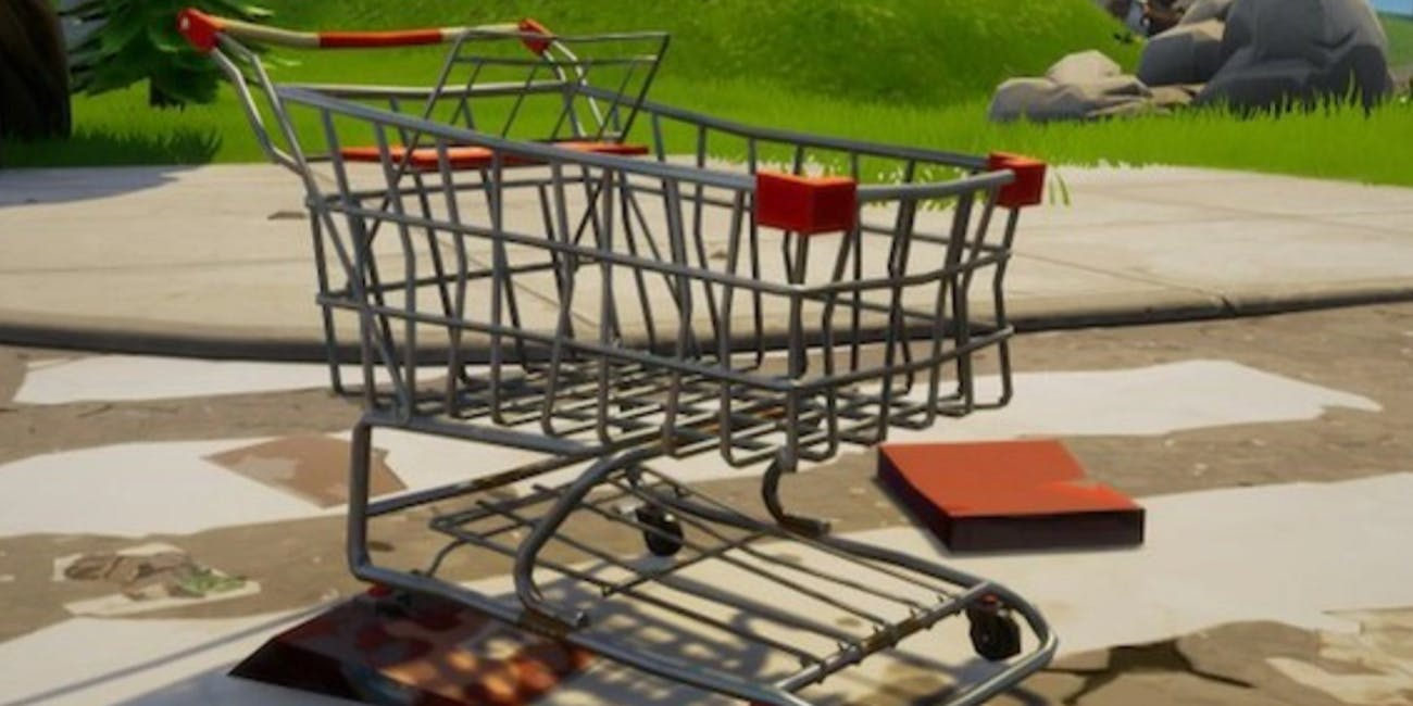 'Fortnite' Shopping Carts