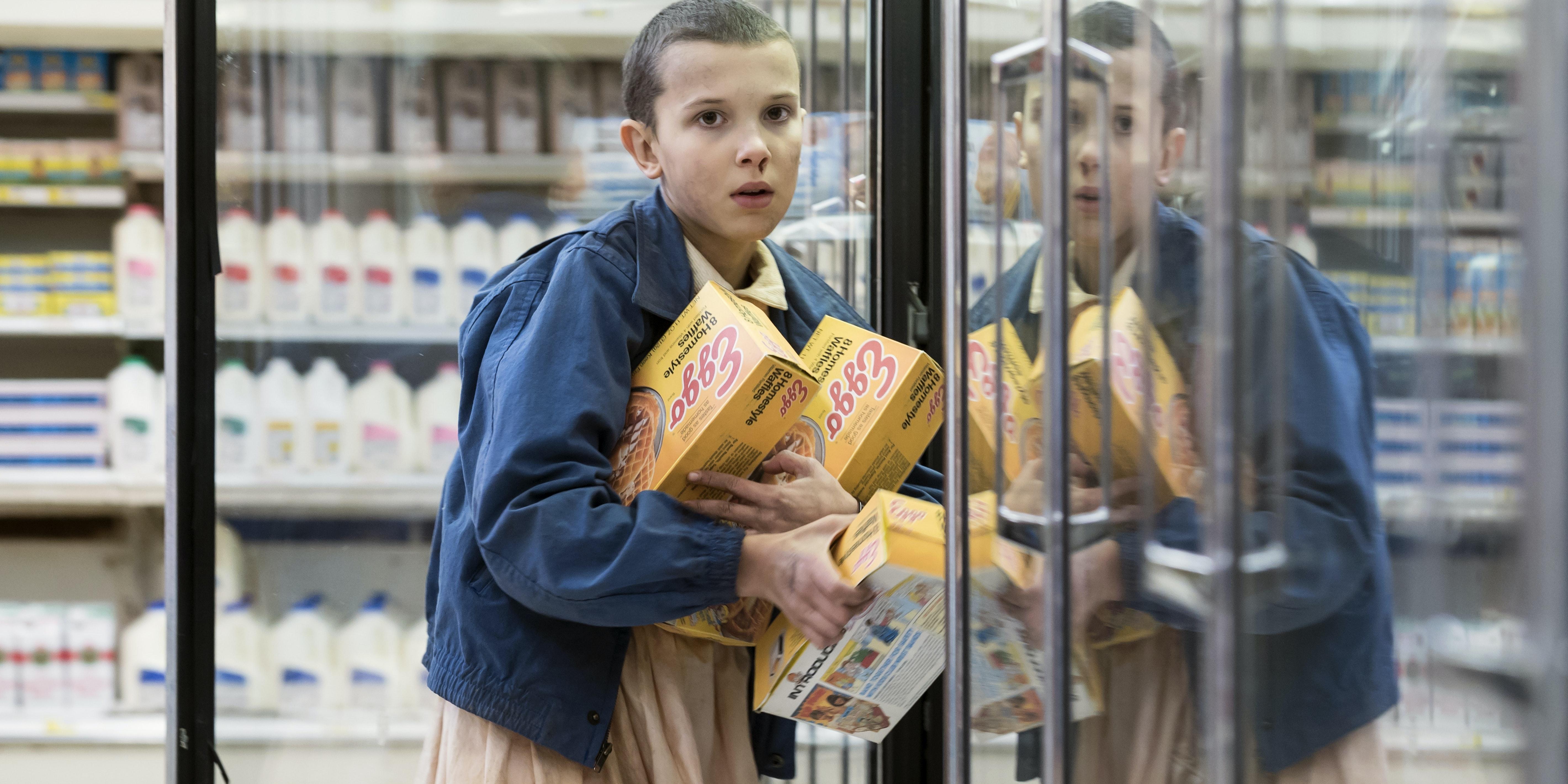 Eleven 'Stranger Things'