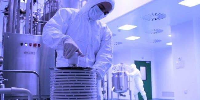 Biologic conventional drugs development laboratory white coat