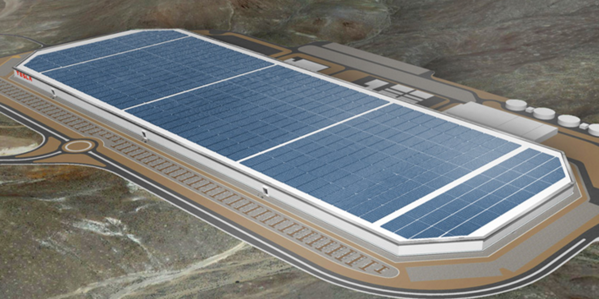 Tesla S Gigafactory In Nevada Will Be Second Largest