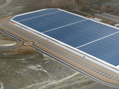 Tesla's Gigafactory in Nevada Will Be Second-Largest Facility in the World