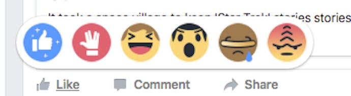 How To Enable Star Trek Emoji Reactions On Facebook Inverse