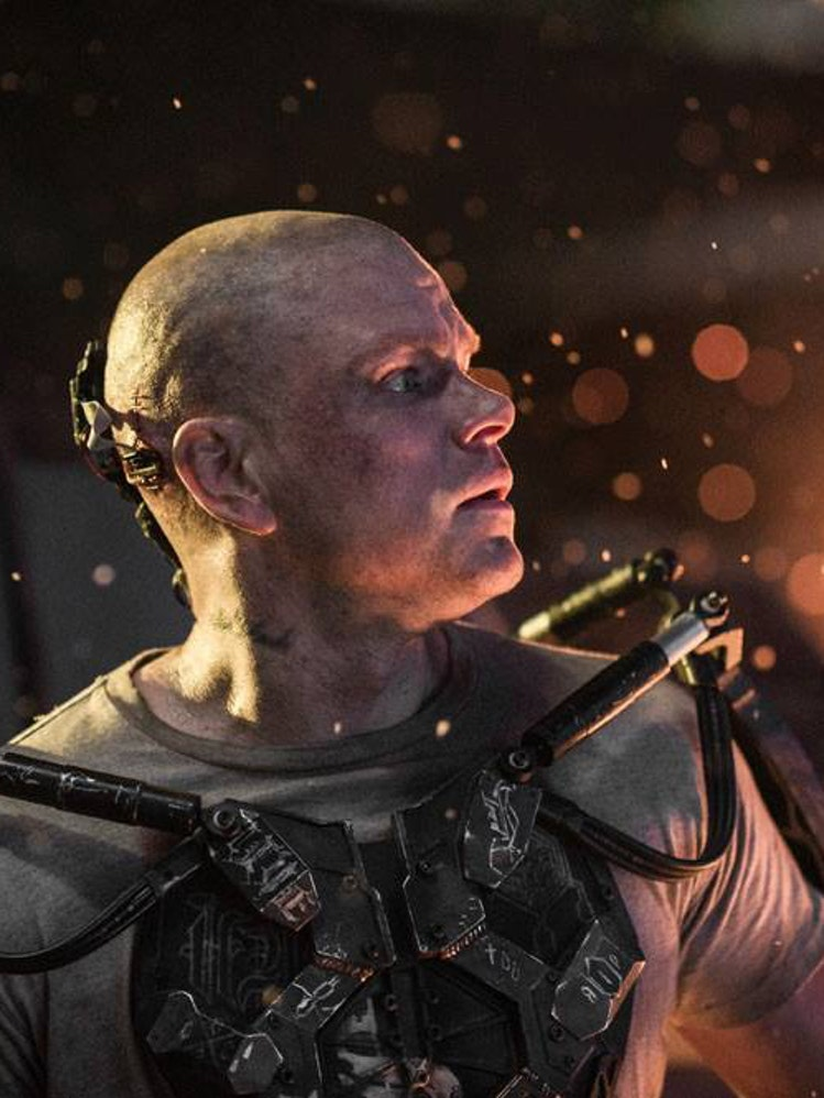 Matt Damon in Neill Blomkamp's 'Elysium'