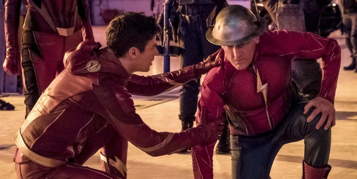 "Jay Garrick returns to 'The Flash' to ""Enter Flashtime."""