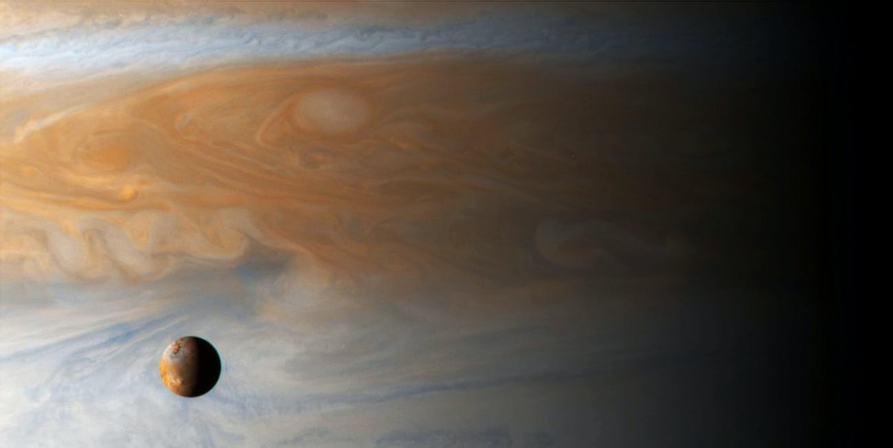 You can call everything in this picture Jovian as an adjective, you know. Jupiter Juno Io wind jet stream gas whatever
