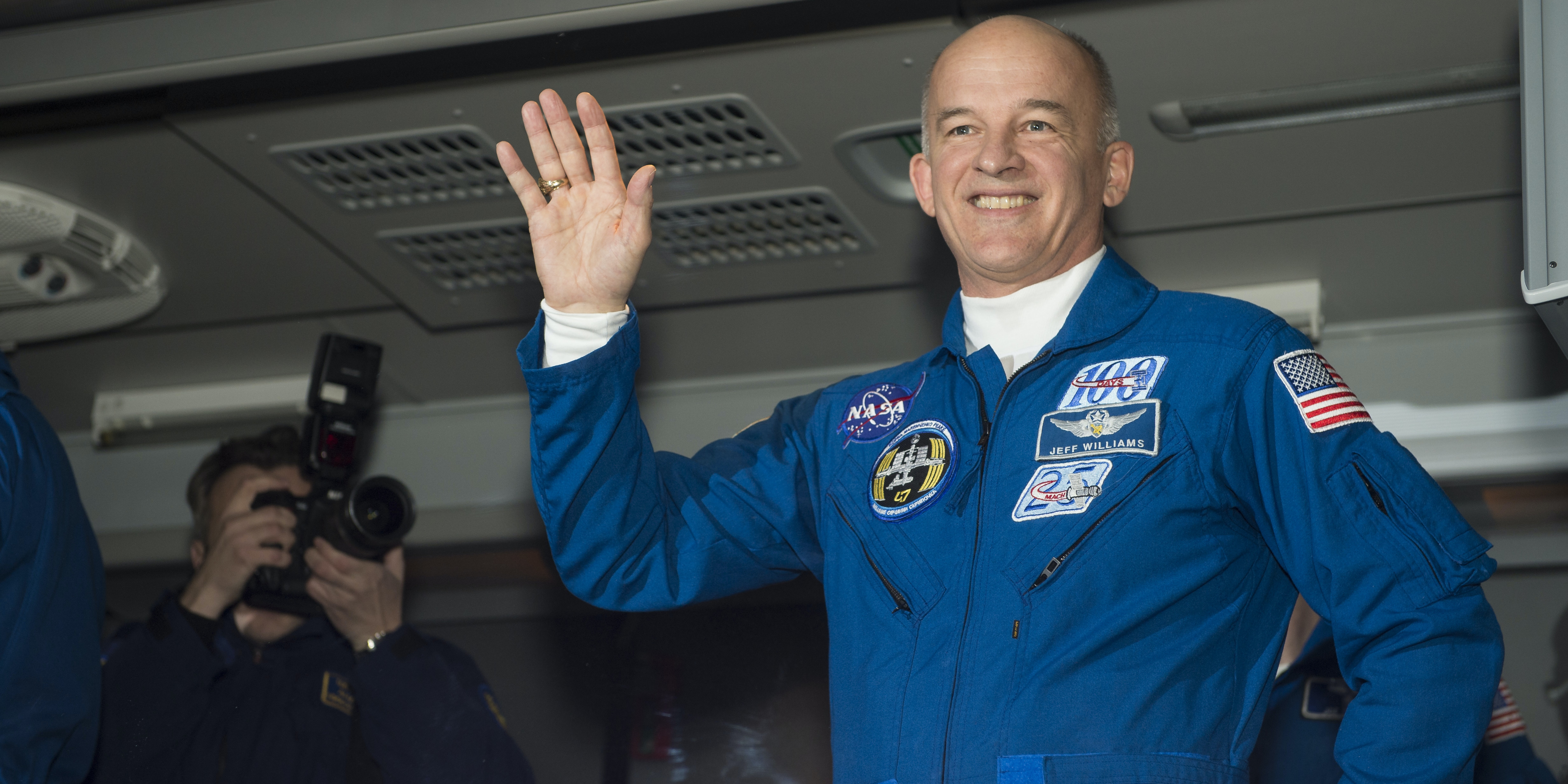 Jeff Williams has now spent more time in space than any other American astronaut in history.