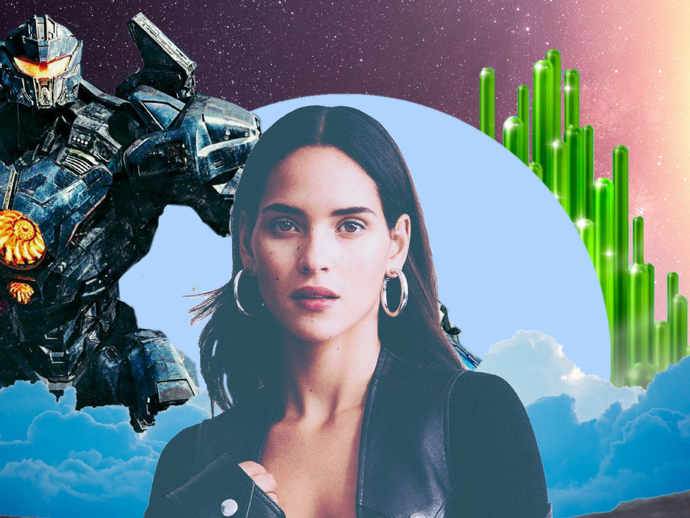 adria arjona interview good omens morbius