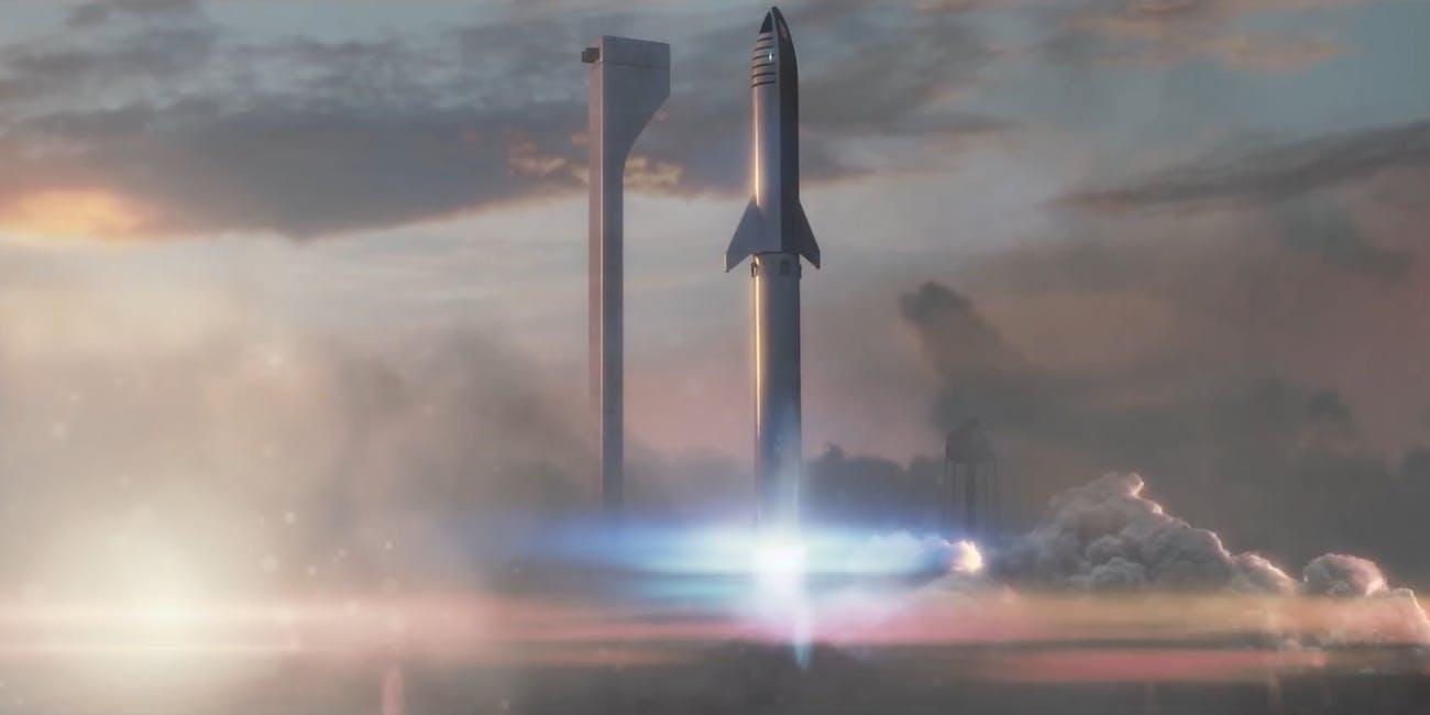 bfr starship mars rocket