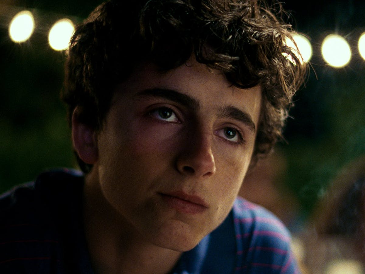 """Timothée Chalamet in """"Call Me By Your Name"""""""