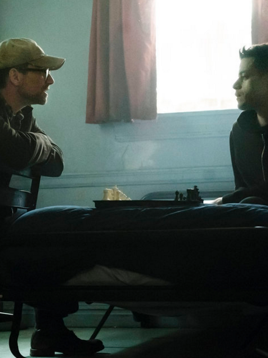 """Scene from the television show """"Mr. Robot."""""""
