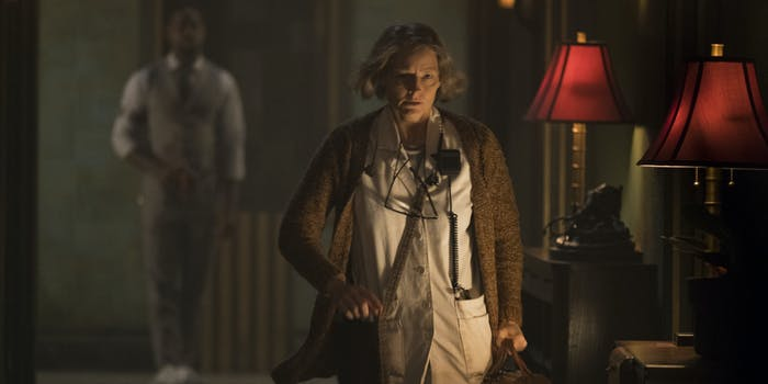 "Jodie Foster plays the ""Nurse"" in 'Hotel Artemis'."