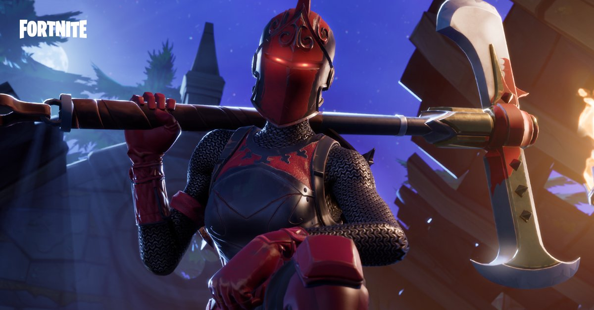 Red Knight Fortnite Release Time Heres When You Can Buy The Rare