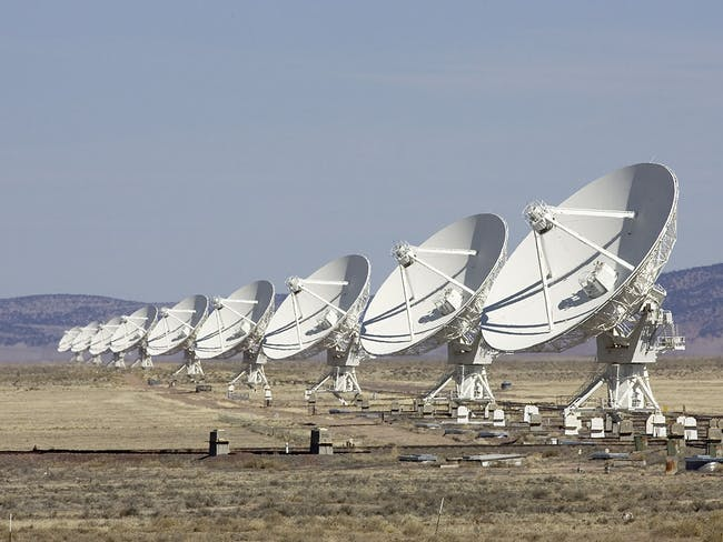 Karl G. Very large array in New Mexico