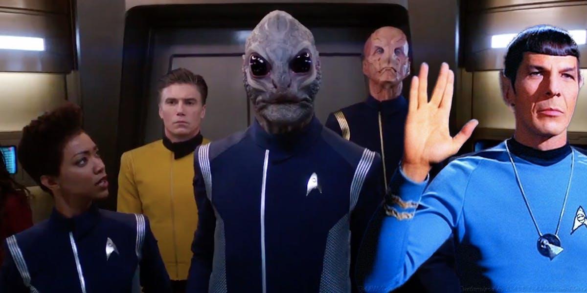 'Star Trek: Discovery' Season 2 Trailer Brings Back Spock, Canon, and Fu...