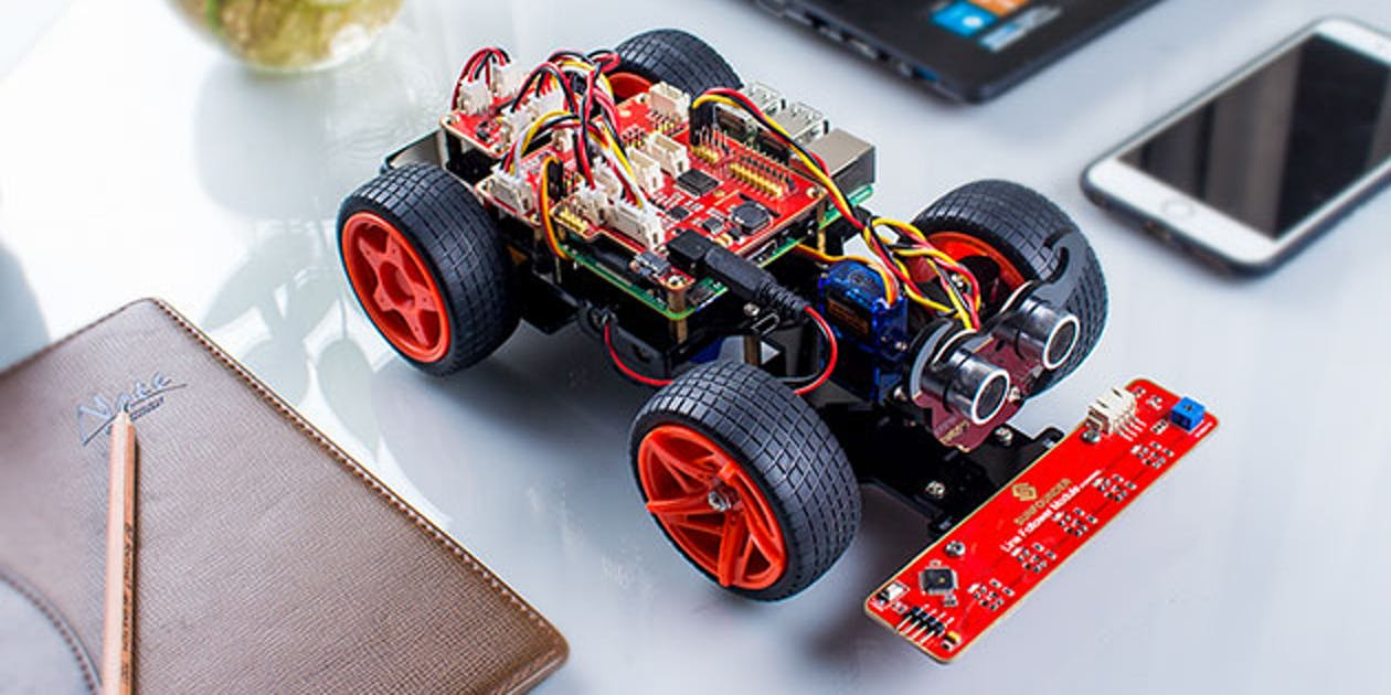 This Raspberry Pi Kit Lets You Make Your Own Racing Robot
