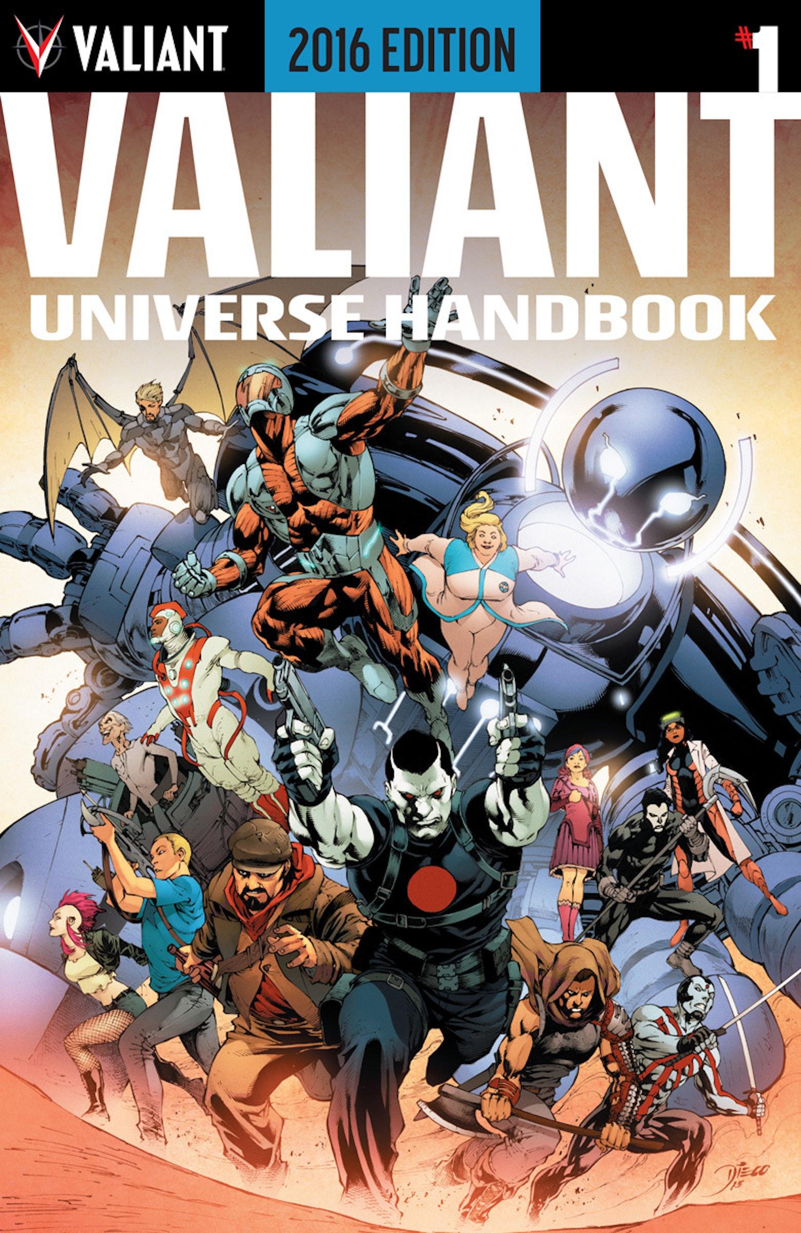 Valiant Universe Handbook