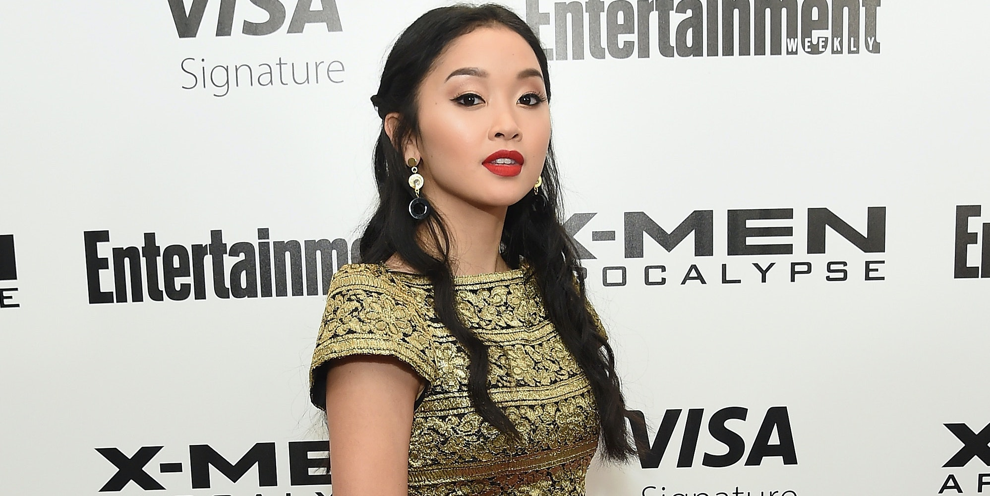 NEW YORK, NY - MAY 24:  Actress Lana Condor attends the 'X-Men Apocalypse' New York screening at Entertainment Weekly on May 24, 2016 in New York City.  (Photo by Jamie McCarthy/Getty Images)