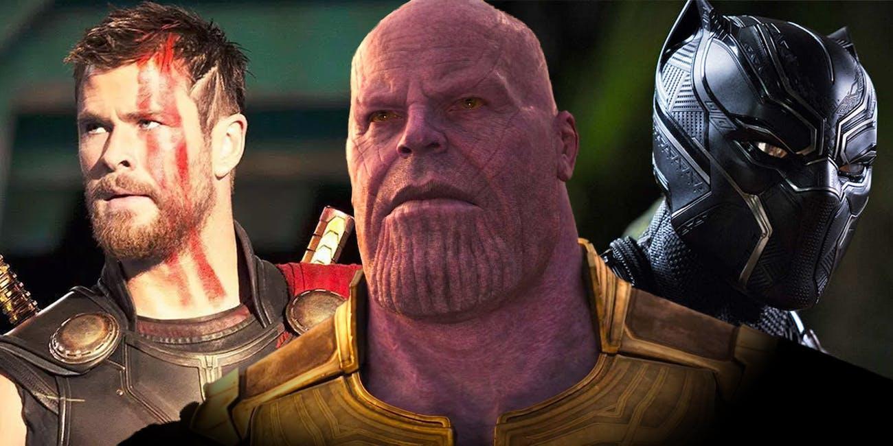 Infinity War timeline