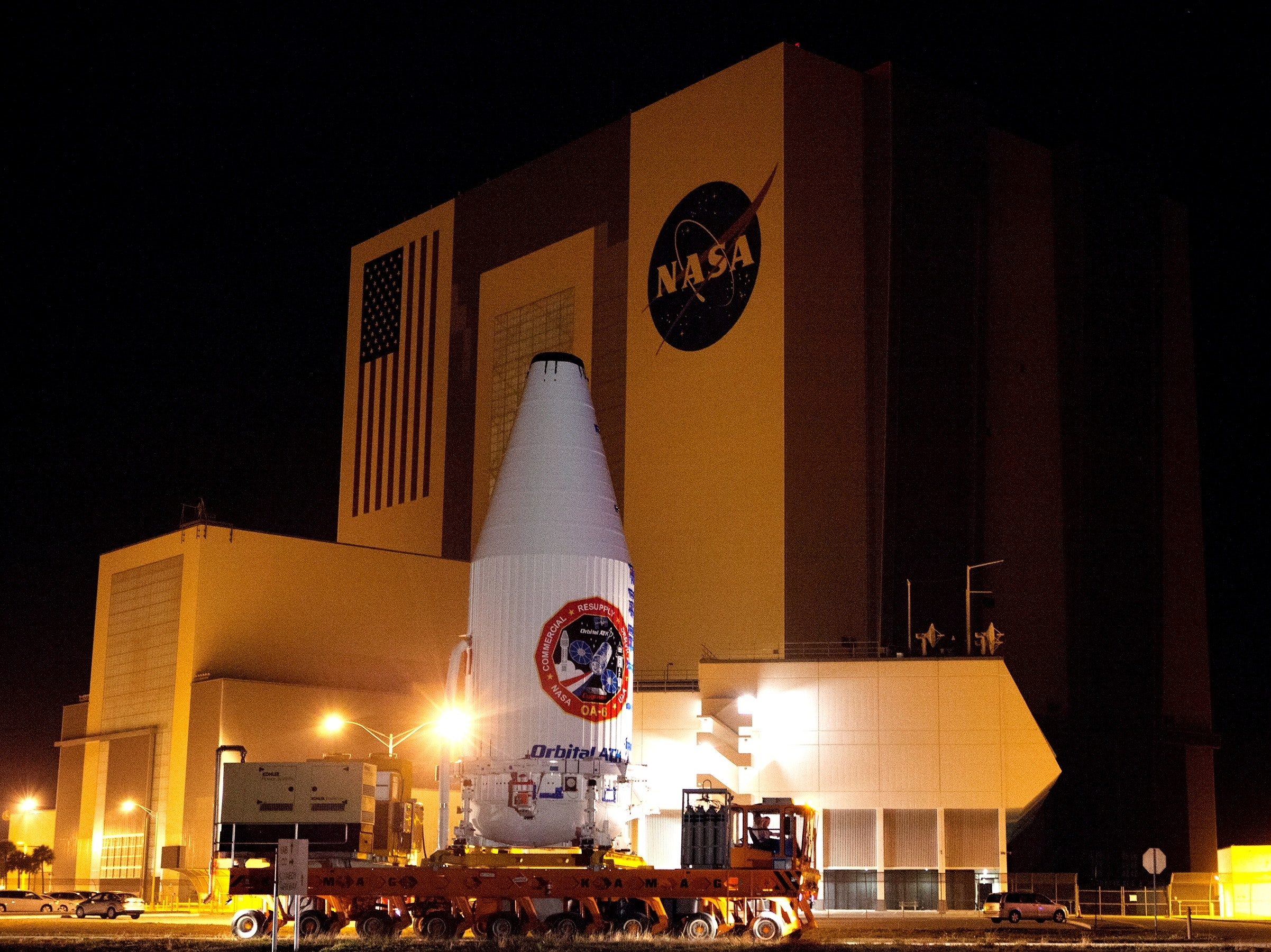 Orbital ATK Reschedules ISS Resupply Launch for Friday