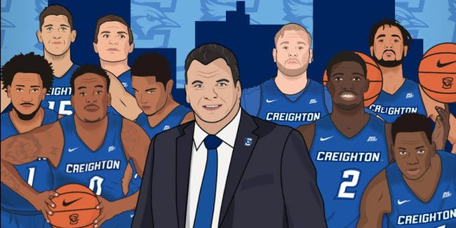 NCAA basketball Creighton