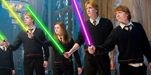 Harry potter rencontre star wars