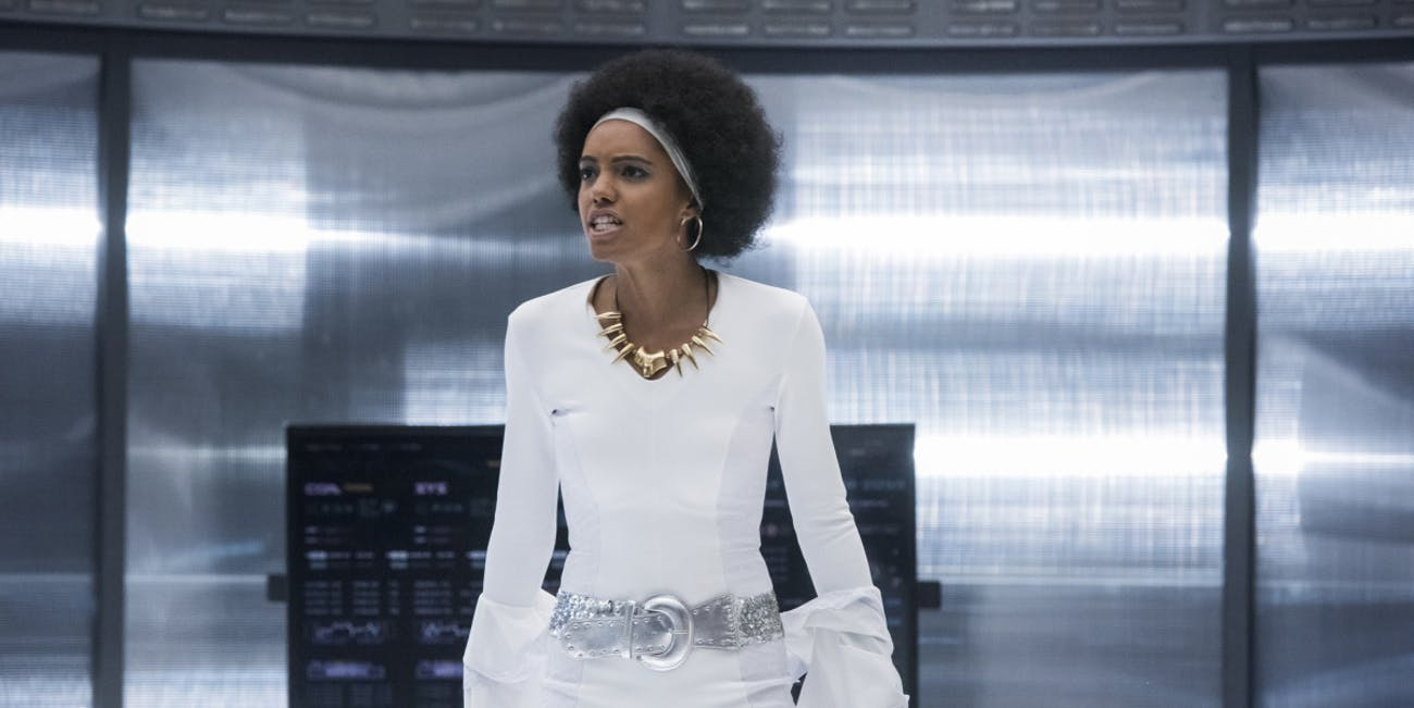 maisie richardson sellers legends of tomorrow charlie amaya season 4 episode 3 dancing queen