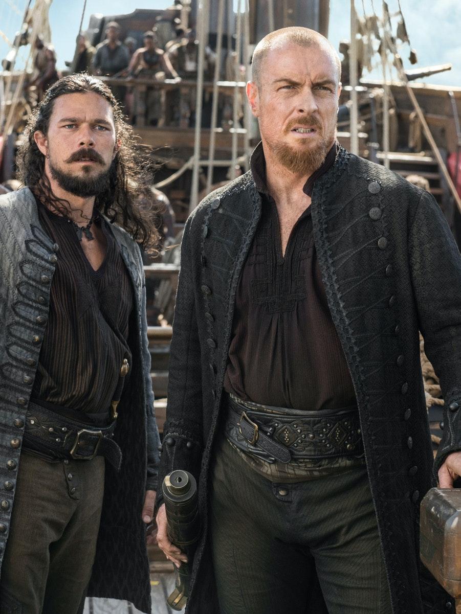 Long John Silver and James Flint