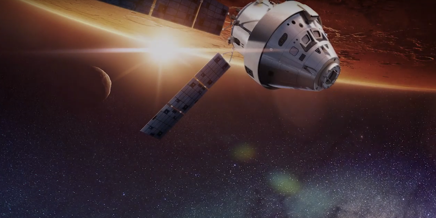 "Watch Lockheed Martin's Epic Video Unveiling ""Mars Base Camp"""