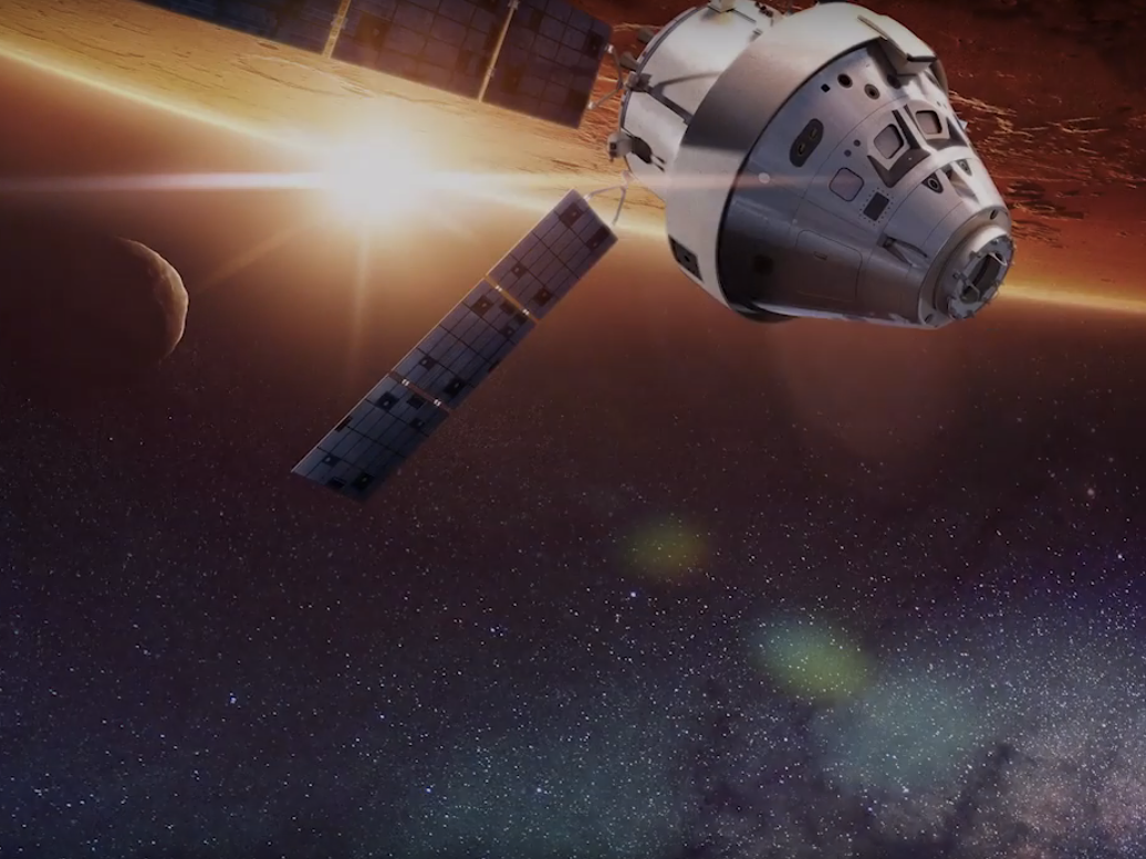 "Watch Lockheed Martin's Epic Video Unveiling ""Mars Base Camp"""
