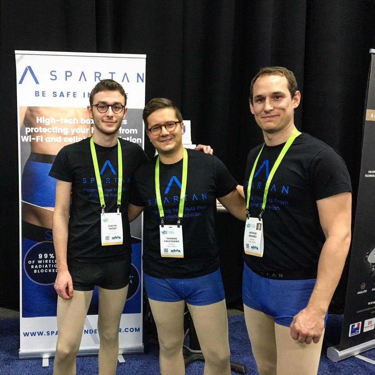 The team at CES 2018.