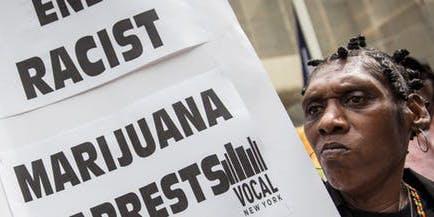 End racist marijuana