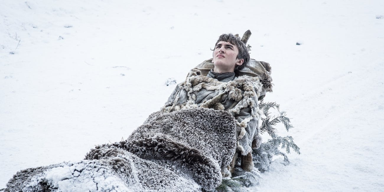 Isaac Hempstead-Wright as Bran Stark in 'Game of Thrones'