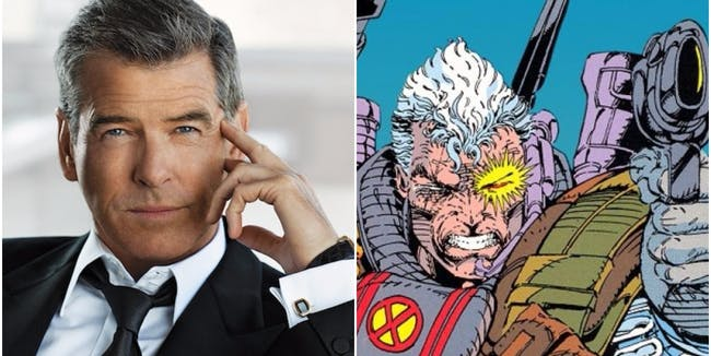 Pierce Brosnan and Marvel's Cable