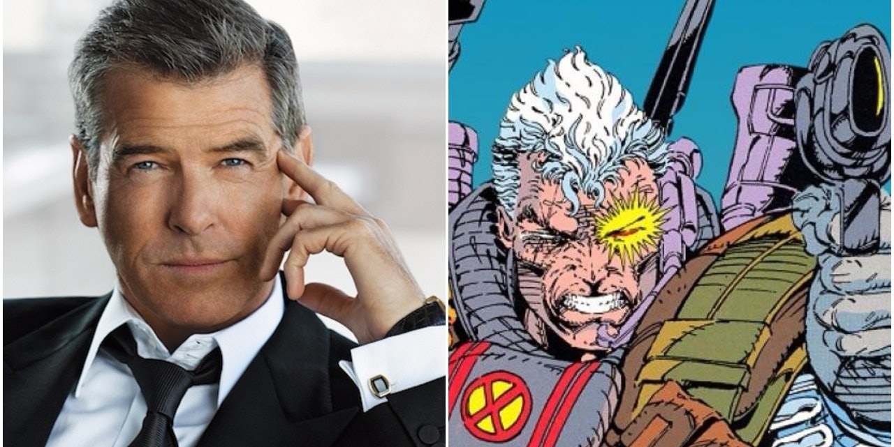 Pierce Brosnan as Cable in 'Deadpool 2'? Everybody Chill Out