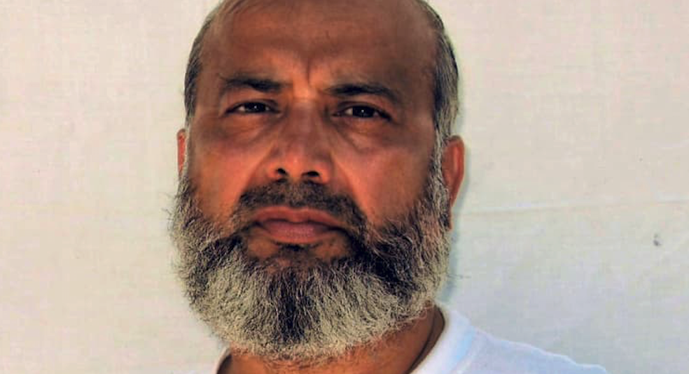 Saifullah Paracha in a photo released by his attorney David H. Remes, is 68.
