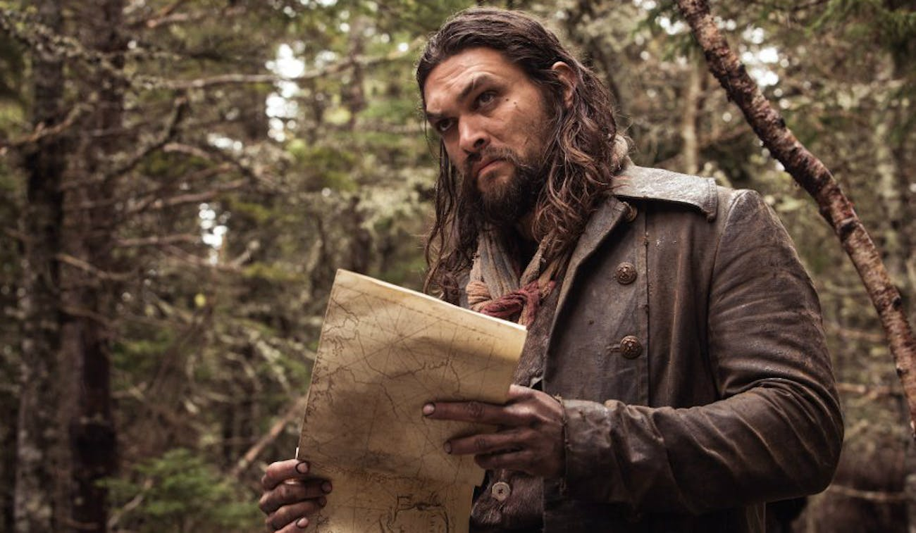 Jason Momoa as Declan Harp in 'Frontier'.