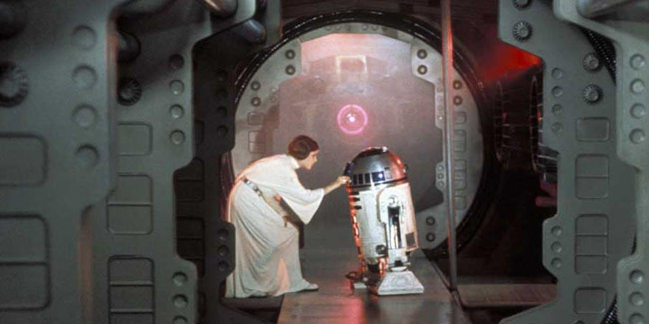 Take my Death Star plans, please.