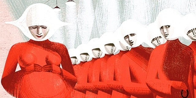 the lack of hero in the dystopian novel the handmaids tale by margaret atwood The handmaid's tale by margaret atwood:  genres that are developed in atwood's novel: utopian, dystopian,  utopias are characterized by a lack of definite.