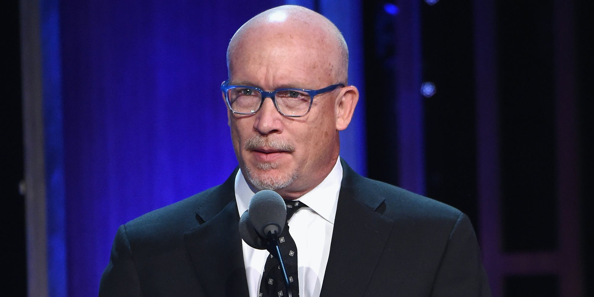 NEW YORK, NY - MAY 21:  Director Alex Gibney speaks onstage during The 75th Annual Peabody Awards Ceremony at Cipriani Wall Street on May 21, 2016 in New York City.  (Photo by Mike Coppola/Getty Images for Peabody Awards)